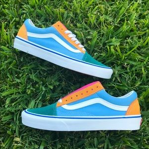 Vans Off The Wall Low To Canvas Sneakers